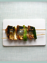 Rezept von Mitch Tonks: Makrelenspieße mit Teriyaki