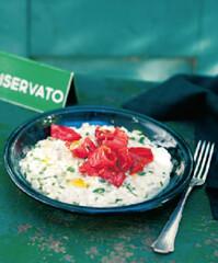 Rezept von Vincent Klink: Zitronenrisotto mit Spitzpaprika