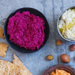 Rezept von Leanne Kitchen: Rote-Bete-Joghurt-Dip