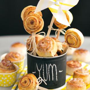 Rezept von Daniela Klein: Klitzekleine Zimtschnecken