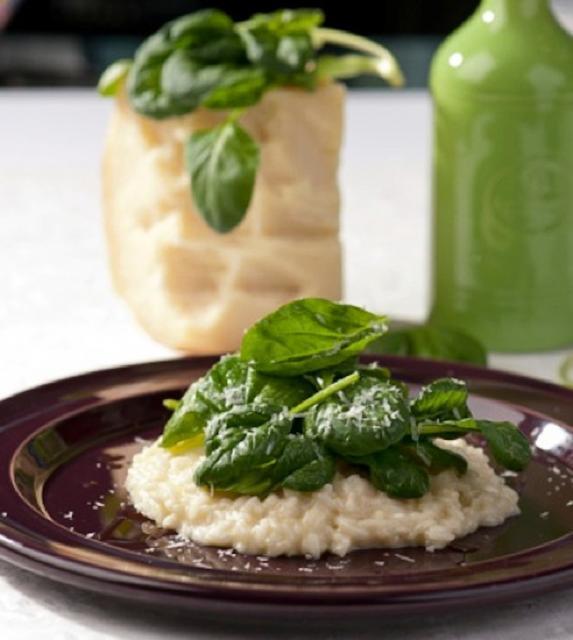 Rezept von Franco Luise: Risotto mit Spinat & Parmesan