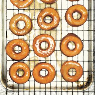 Rezept von Allegra McEvedy: Donuts mit Kürbis & Ingwer