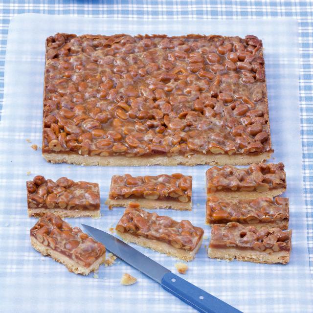 Rezept von Annik Wecker: Shortbread mit Erdnusskaramell