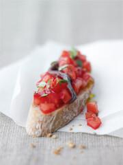Rezept von Karen Schulz: Bruschetta mit Tomaten und Sardellen