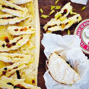Rezept von Danyel Couet: Danyels gefüllter Camembert