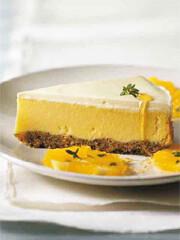 Rezept von Veerle de Pooter: Zitronen-Mohn-Käsekuchen mit Orangensalat