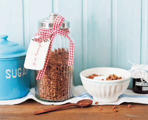Rezept von Nicole Stich: Schoko-Knusper-Granola