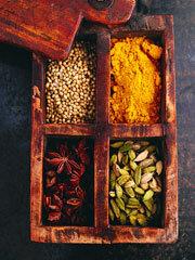 Rezept von Rick Stein: Mumrez Khans Lamm-Spinat-Curry