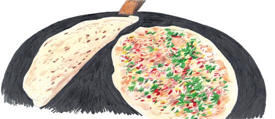 Rezept von Gabi Kopp: Lahmacun – Türkische Pizza