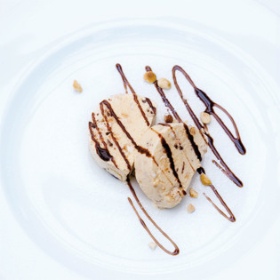 Rezept von Antonio Esposito: Torrone Halbgefrorenes