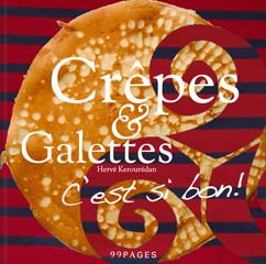 Kochbuch von Hervè Kerourédan: Crêpes & Galettes