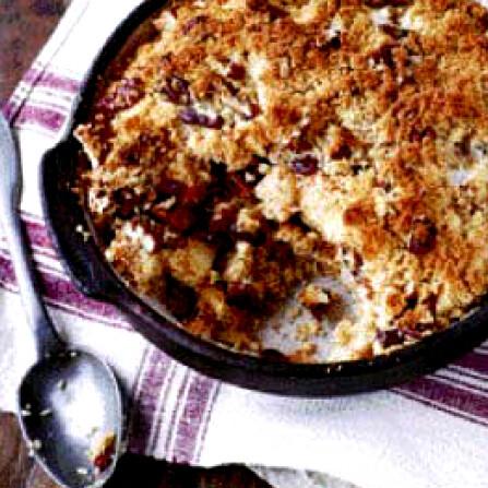 Rezept von Henrietta Green: Apfel-Brot-Kuchen mit getrockneten Cranberries