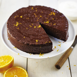 Rezept von april bloomfield chocolate orange cake with bourbon