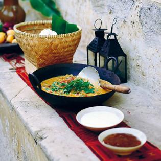 Rezept von von Anna & Fanny Bergenström: Indisches Curry aus Stockholm