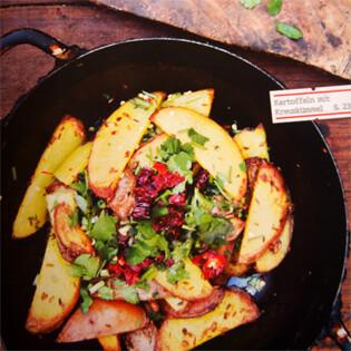 Rezept von Pushpesh Pant: Kartoffeln mit Kreuzkümmel