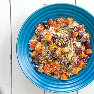 Rezept von Annabel Langbein: Couscous mit Gemüse