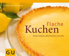 Backbuch von Ilse König: Flache Kuchen