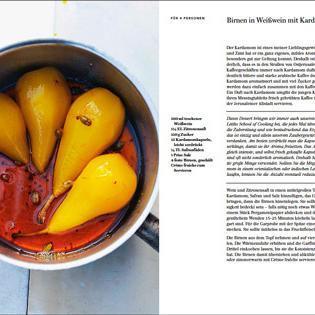 Rezept von Ottolenghi & Tamimi: Birnen in Weißwein mit Kardamom