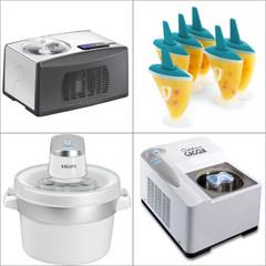 Schönes für die Küche: Eismaschinen + Eisformen