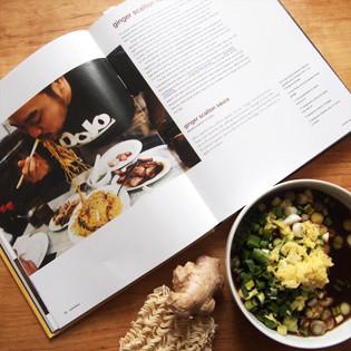 Aus Valentinas Küche: Ingwer-Frühlingszwiebeln-Sauce