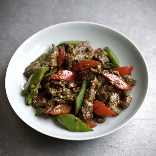 Rezept von Fuchsia Dunlop: Rindfleisch mit Kreuzkümmel