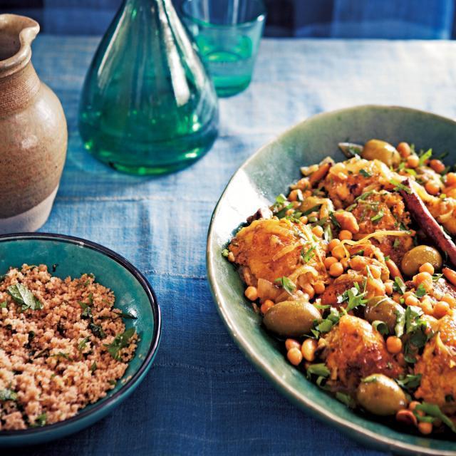 Rezept von Alice Hart: Hühnchen-Kdra mit Mandeln
