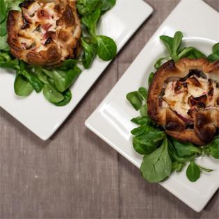 Rezept von Antonia Kögl & Benedikt Steinle: Blunzen-Apfel-Muffins