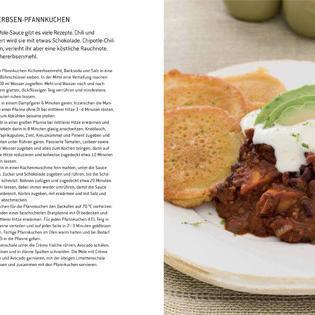 Rezept von Nicola Graimes: Bohnen-Mole mit Kichererbsen-Pfannkuchen