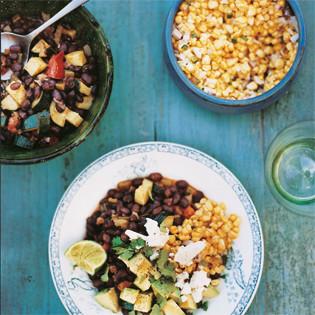 Rezept von Bill Granger: Chili mit schwarzen Bohnen