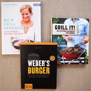 Druckfrisch: Kochbücher fürs Grillen