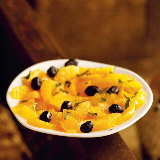 Rezept von Paula Wolfert: Orange & Olive Salad
