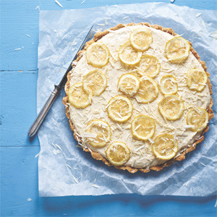 Rezept von Surdham Göb: White Chocolate Lemon Tarte