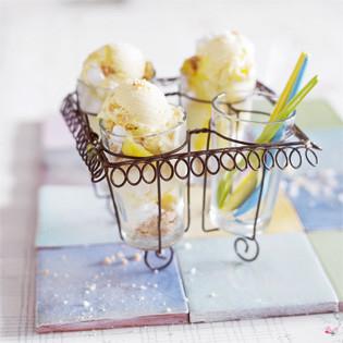 Rezept von Elisabeth Johansson: Lemon-Pie-Eis