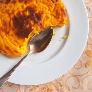 Rezept von Claudia Roden: Budino di zucca gialla – Kürbisflan
