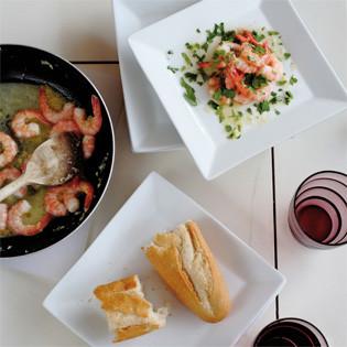 "Rezept aus ""Ganz entspannt kochen"": Shrimps in Ingwer-Butter"