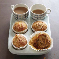 Rezept von Tarek Malouf: Schinken-Champignon-Muffins