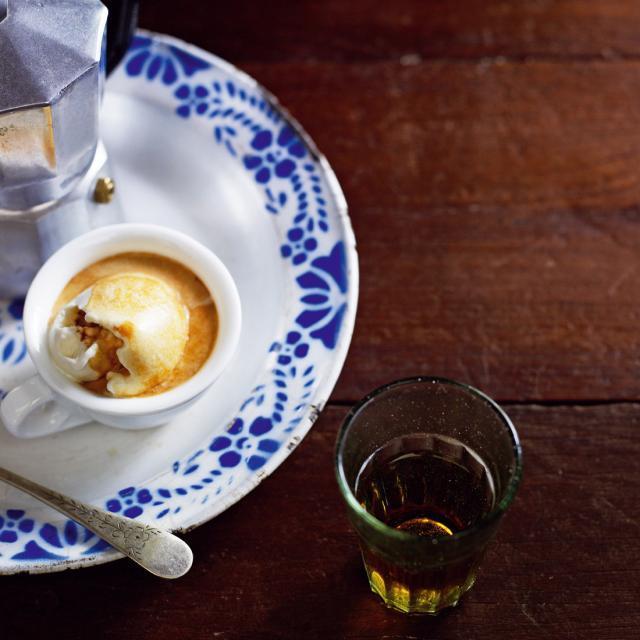 Rezept von Pete Evans: Espresso Affogato