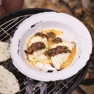 Rezept von Mitch Tonks: Tintenfisch mit John Susmans Nam-Jim-Sauce