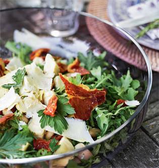 Rezept von Marie Melchior: Limabohnensalat mit Artischockenherzen