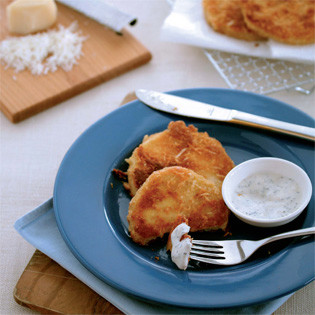 Rezept aus Grüner kochen: Sellerieschnitzel mit Parmesanpanade