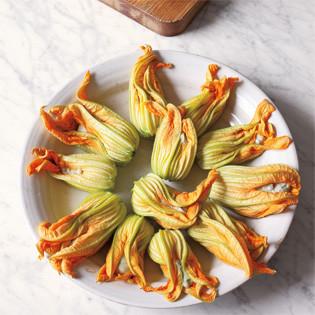 Rezept: Gefüllte Zucchiniblüten