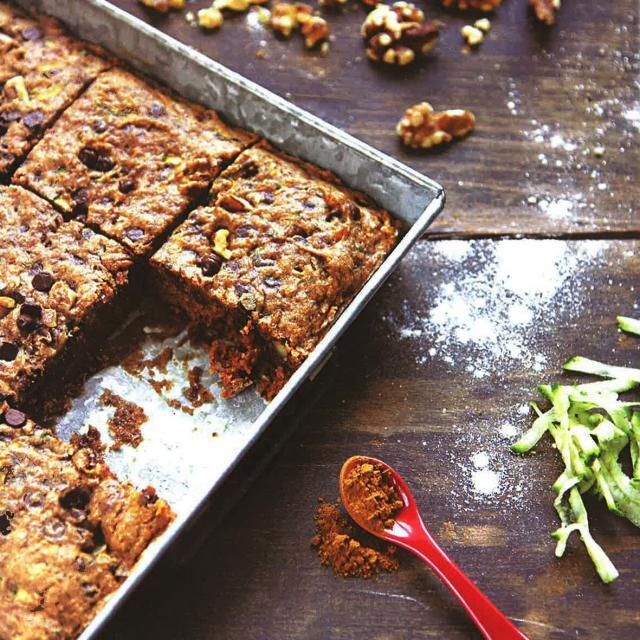 Rezept von Emily Mainquist: Zucchini-Schoko-Kuchen, glutenfrei