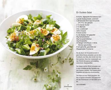 Rezept von Michele Cranston: Ei-Gurken-Salat