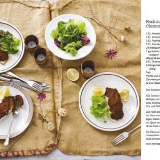 Rezept von Michele Cranston: Fisch in Chermoula-Marinade