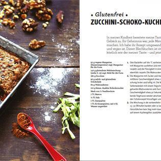 Rezept Von Emily Mainquist Zucchini Schoko Kuchen Glutenfrei