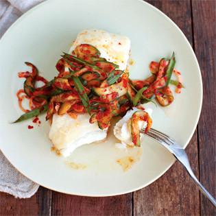 Rezept von Lauryn Chun: Quick Cucumber and Chive Kimchi