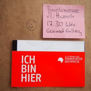 Frankfurter Buchmesse 2013: Über die Zukunft der Kochbücher