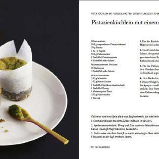 Rezept von Paul Simon: Pistazienküchlein mit einem Kern aus Mandelkonfekt