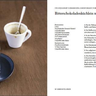 Rezept von Paul Simon: Bitterschokoladenküchlein mit Kaffeefüllung