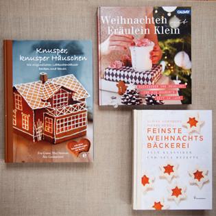 Neue Backbücher: Weihnachtsbäckerei